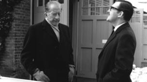 John Paul Getty with Alan Whicker