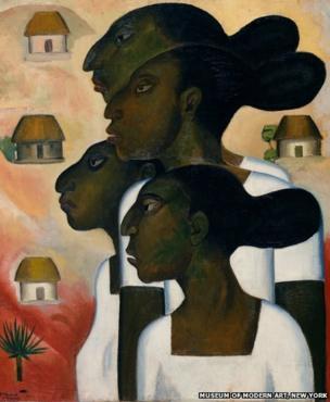 Mayan Women, by Roberto Montenegro, 1926