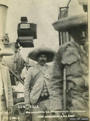 Pancho Villa, unknown photographer, taken between 1914 and 1917