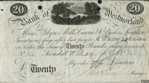 Westmorland banknote