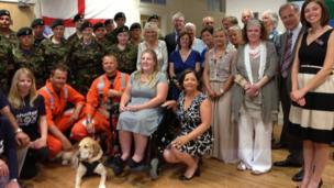Cornwall Air Ambulance, ShelterBox and the Cornwall Community Foundation