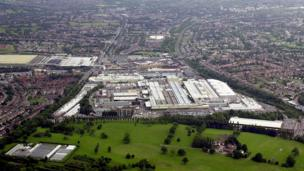 Longbridge car plant