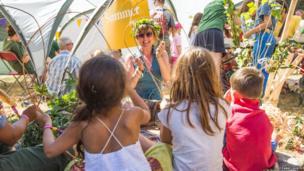 Children at Latitude Festival