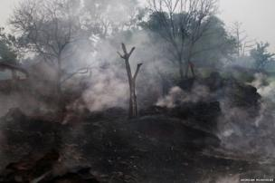 Jharia coal fires