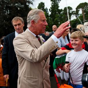 Prince Charles at the Royal Welsh Show, Builth Wells