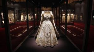 Queen's Coronation dress