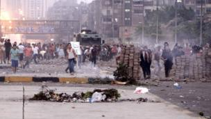 Clashes in Cairo (27 July 2013)