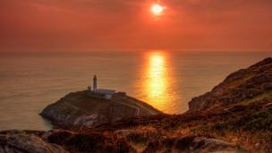 South Stack on Anglesey