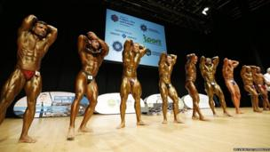 The bodybuilding competition attracted a wide range of competitors, taking place in Belfast's Waterfront Hall.