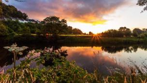 Llandeilo sunset