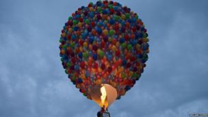 Hot air balloon. Photo: William Cooper