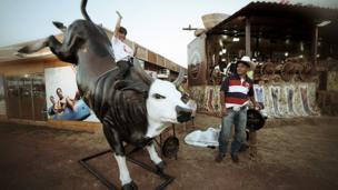 At Brazil's cowboy festival - Festa do Peao
