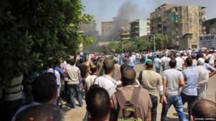 Giza protests