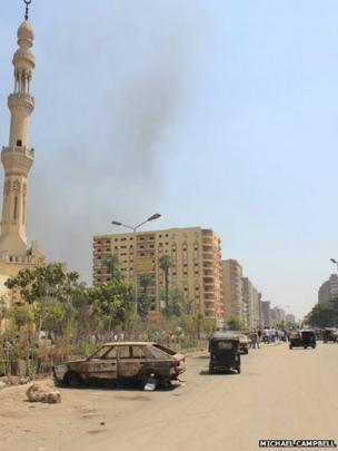 Giza street scene