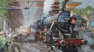Pickering painting by David Noble