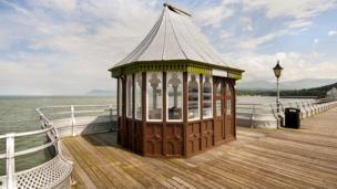 Garth Pier in Bangor