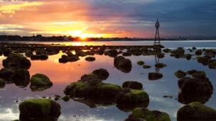Eastfield sunset