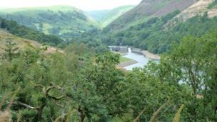 Caban Coch Reservoir