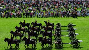 King's Troop at Chatsworth