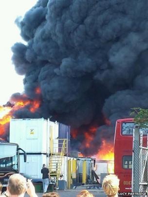 Gravesend fire