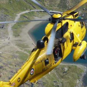 Snowdon helicopter