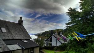 View of Loch Gilp