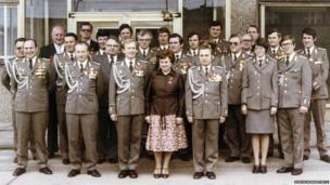 Stasi personnel in Berlin