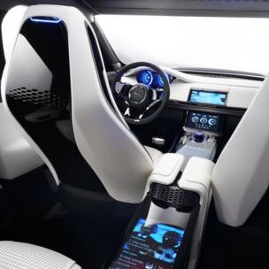 Jaguar C-X17 Sports Crossover Concept interior