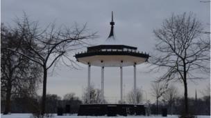 Kensington Gardens bandstand