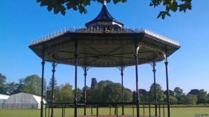 Bandstand at West Park