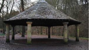 Charles Spencer Greenway bandstand