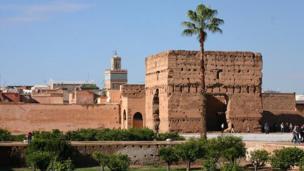 El Badi Palace, Marrakech.