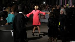 Emma Thompson attends Love Punch premiere