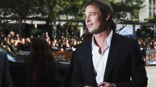 Brad Pitt at the screening of 12 Years A Slave