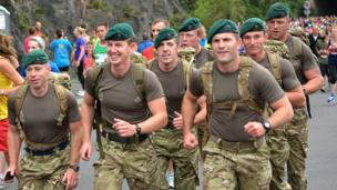 Competitors take part in Bristol Half Marathon