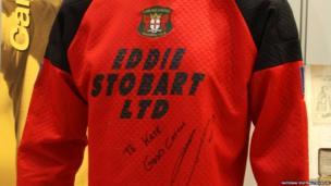 Jimmy Glass goalie shirt
