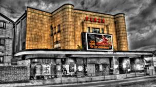 The old Plaza cinema building in Port Talbot