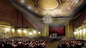 Alexandra Palace Theatre post regeneration