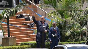 Investigators at Westgate mall on 26 September 2013