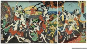 A Tour of Hell by the Water Margin Heroes, 1864