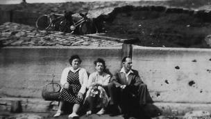 Photograph from the 'Our town, our lives' exhibition in Hartlepool.