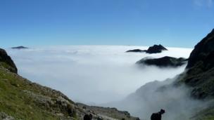 Snowdon cloud