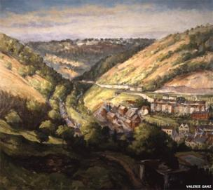 Early Morning at Six Bells by Valerie Ganz