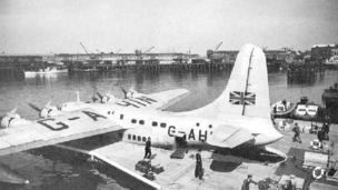 Flying boat 1948