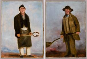 Chapman, W.J., Francis Crawshay Workers Portraits, 1835