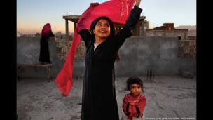 Nujood Ali obtained a divorce in Yemen aged 10 (2008)