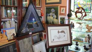 Ralfe Whistler's Dodo collection