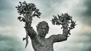 Air Spirit statue