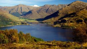 Loch Duich and Glenelg