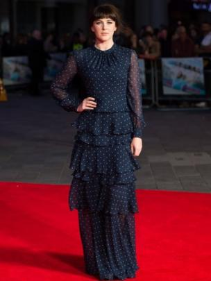 Alexandra Roach attends the European premiere of One Chance